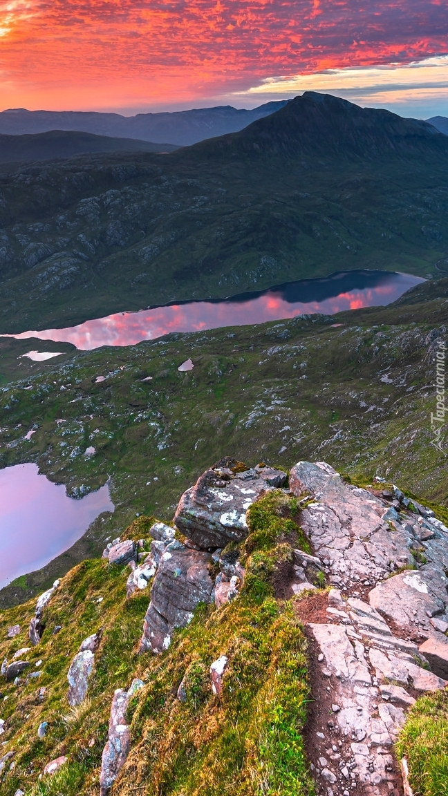 Góra Suilven w Szkocji