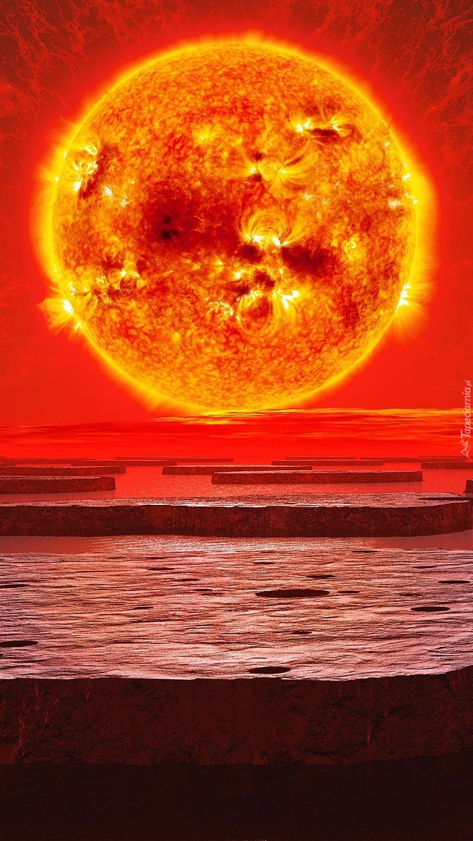 Gorąca planeta