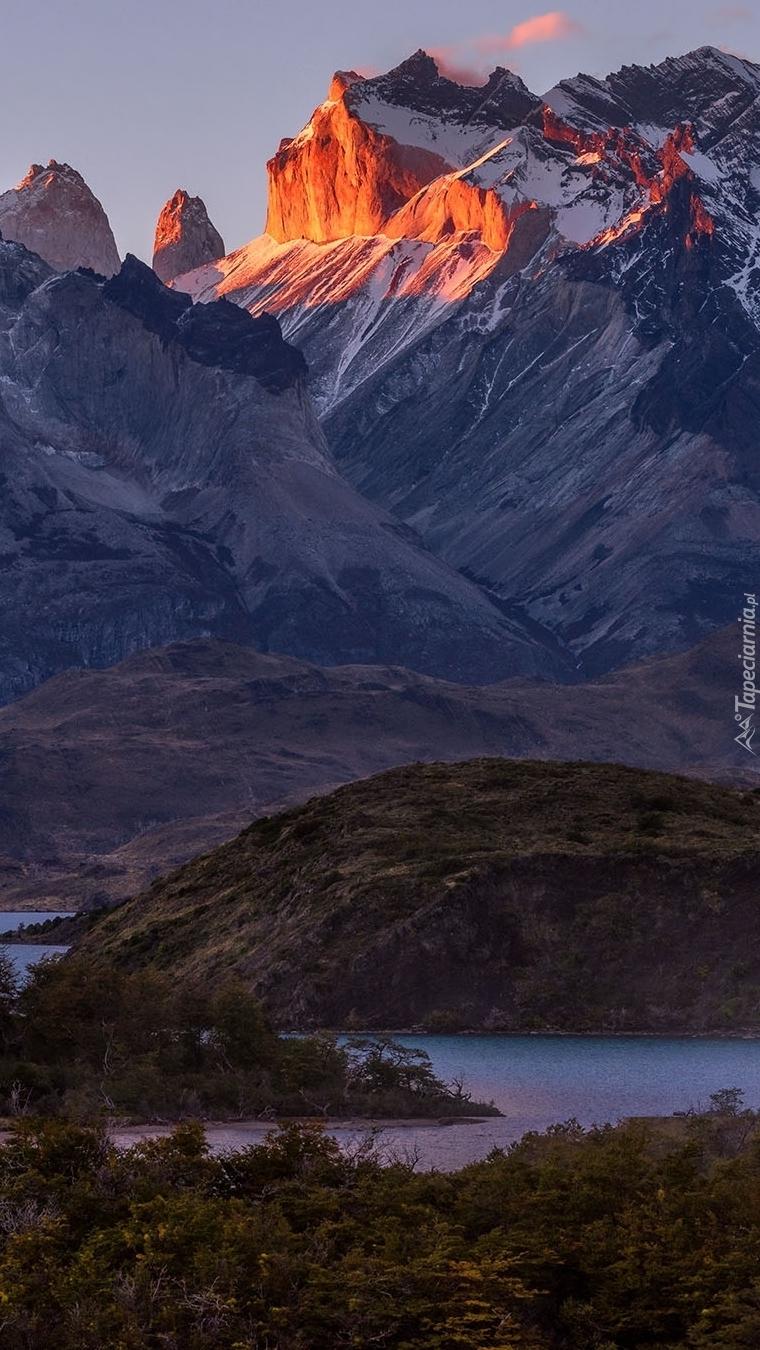 Góry Cordillera del Paine
