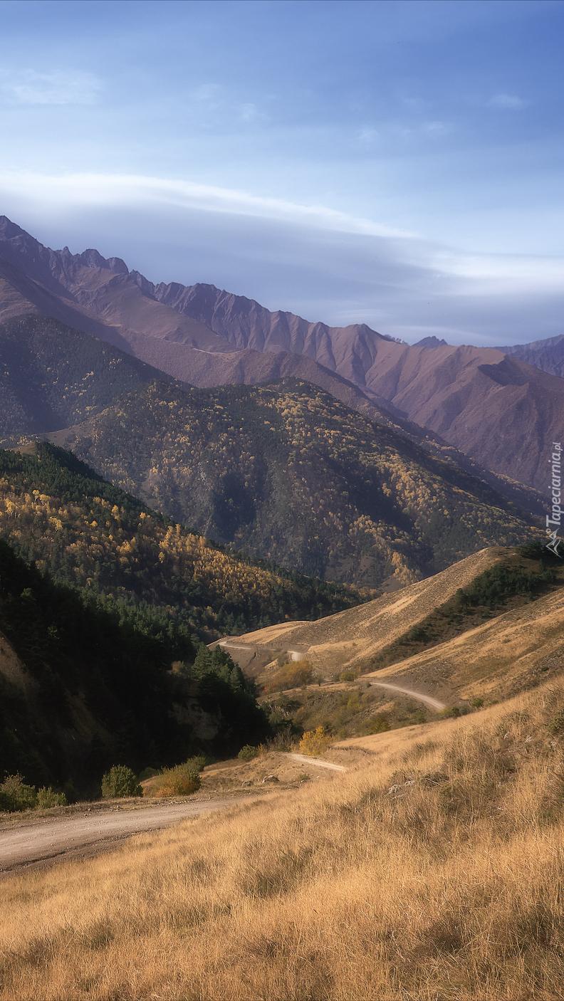 Góry Kaukazu w Republice Inguszetii