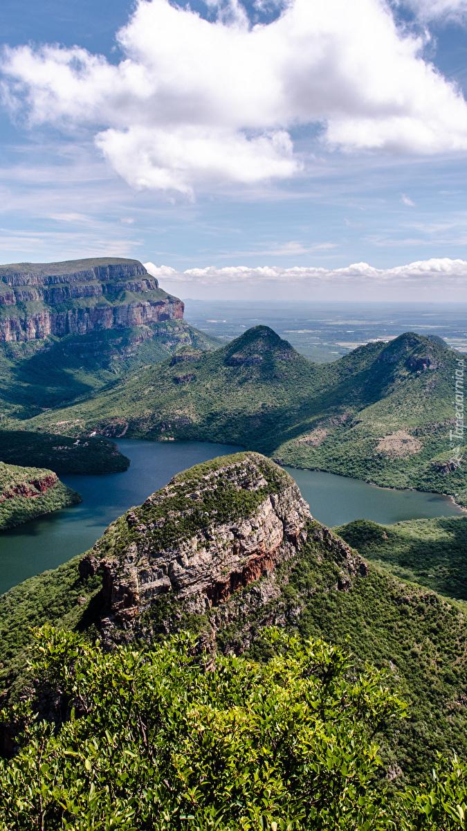 Góry Smocze nad rzeką Blyde River