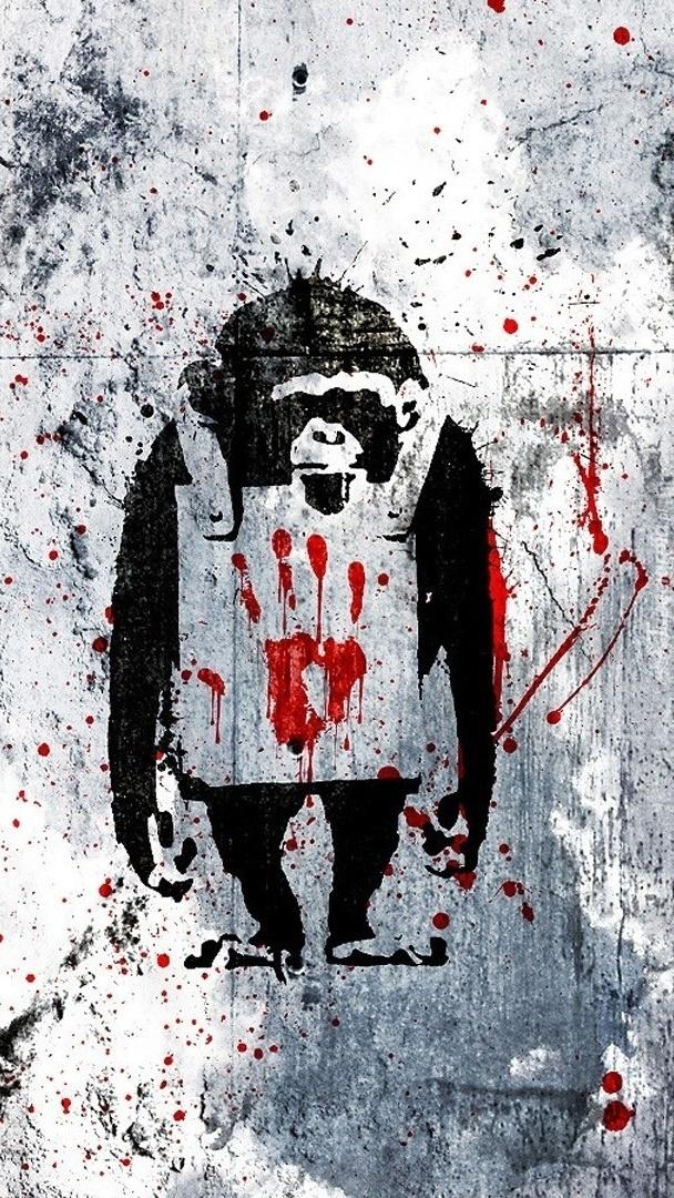 Graffiti  Banksyego