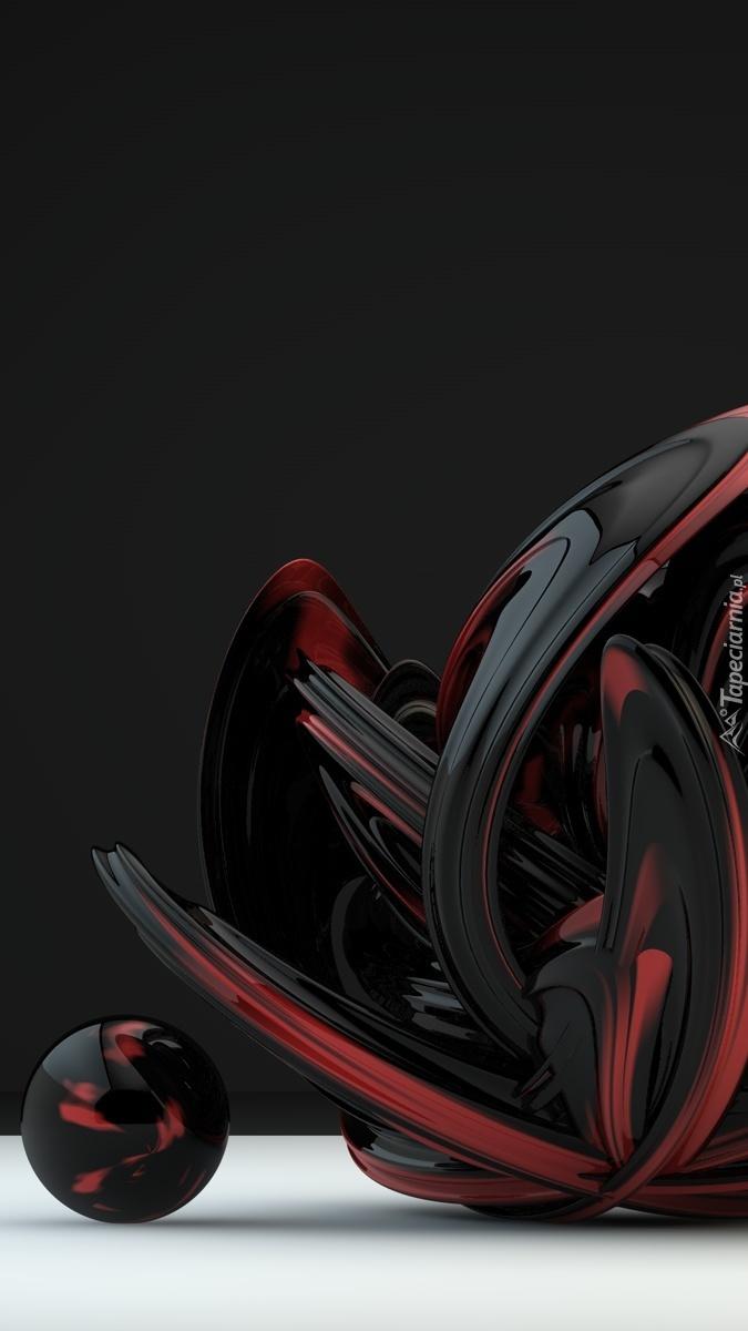 Graficzna kula z kieszonkami w 3D