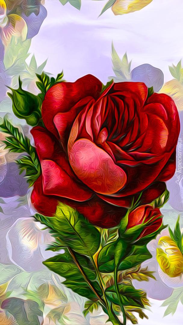 Graficzna róża