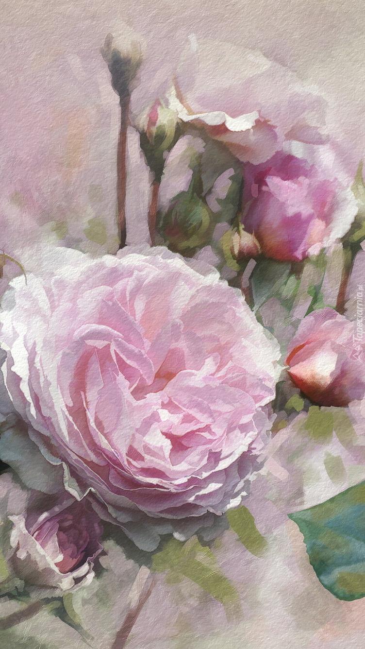 Graficzne róże