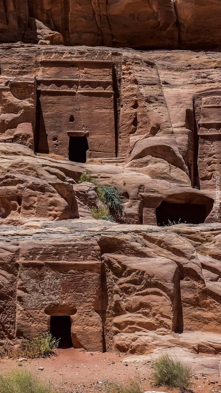 Grobowce Królewskie w Petrze