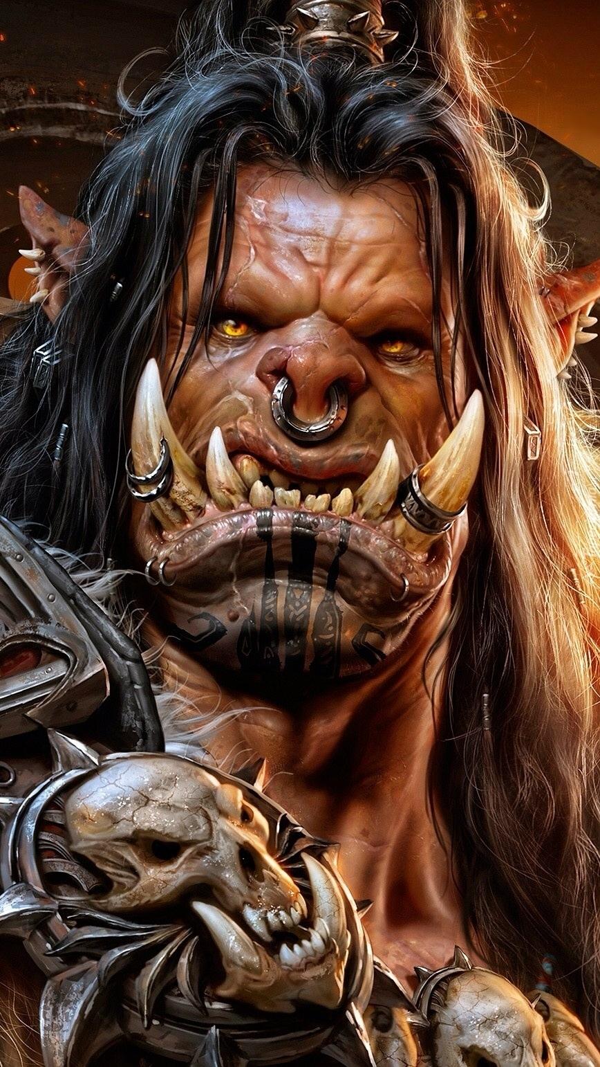 Grommash Hellscream z gry Warlords of Draenor