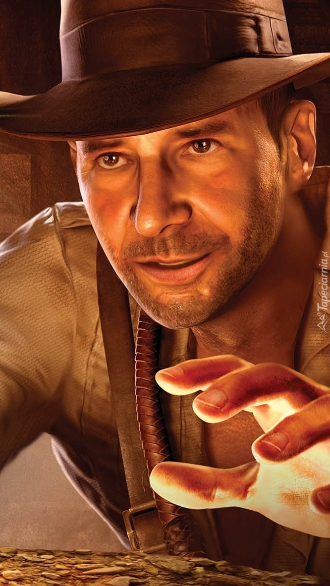 Harrison Ford w filmie Indiana Jones