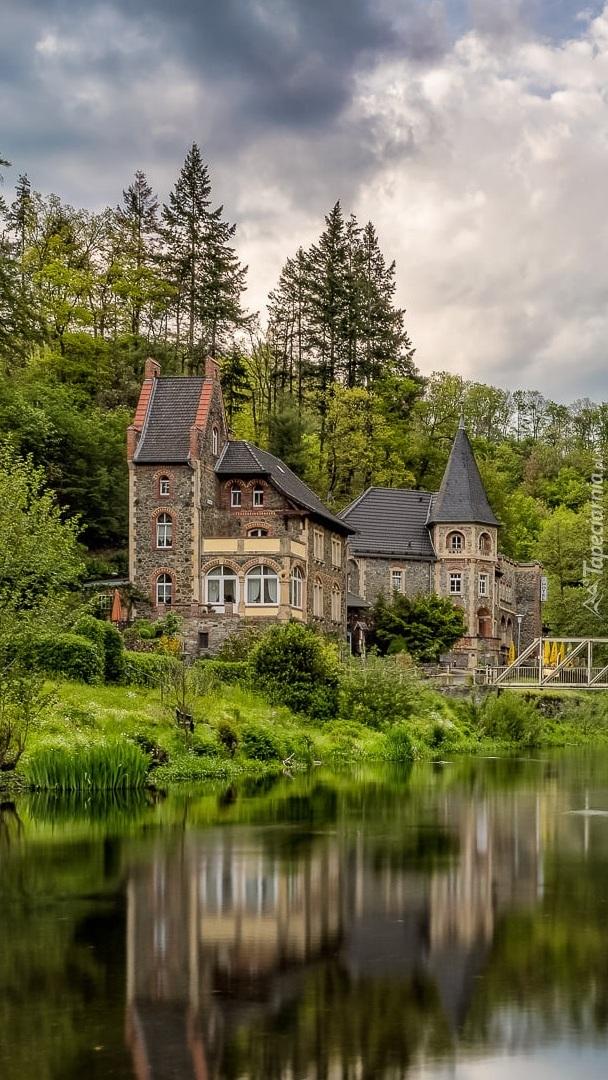 Hotel Bodeblick nad rzeką Bode