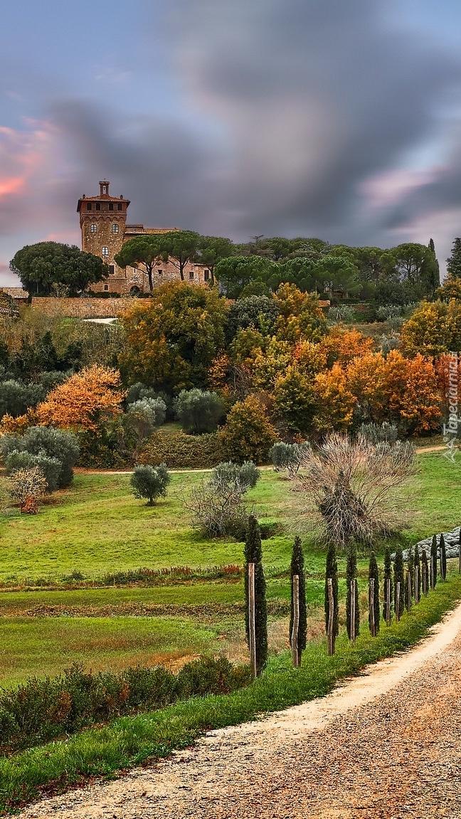 Hotel Massaini na wzgórzach Toskanii