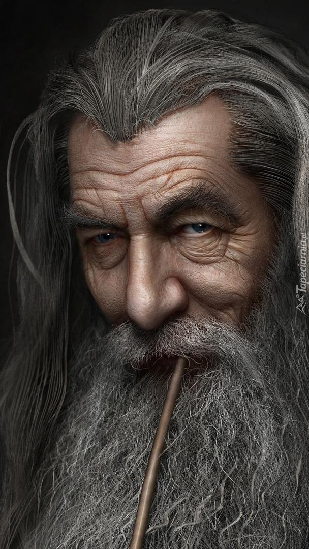 Ian McKellen jako Gandalf