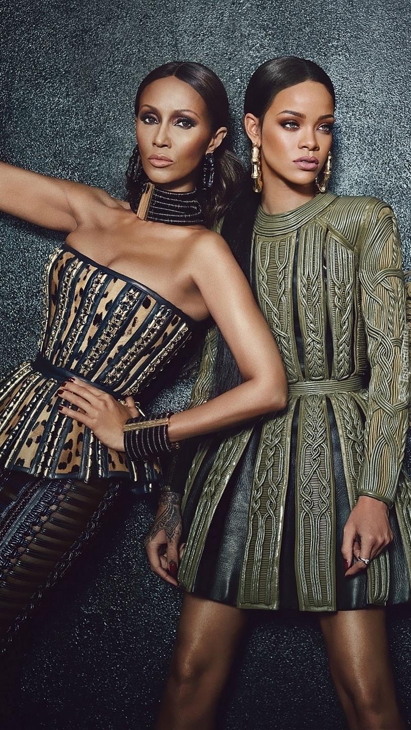 Iman Abdulmajid i Rihanna