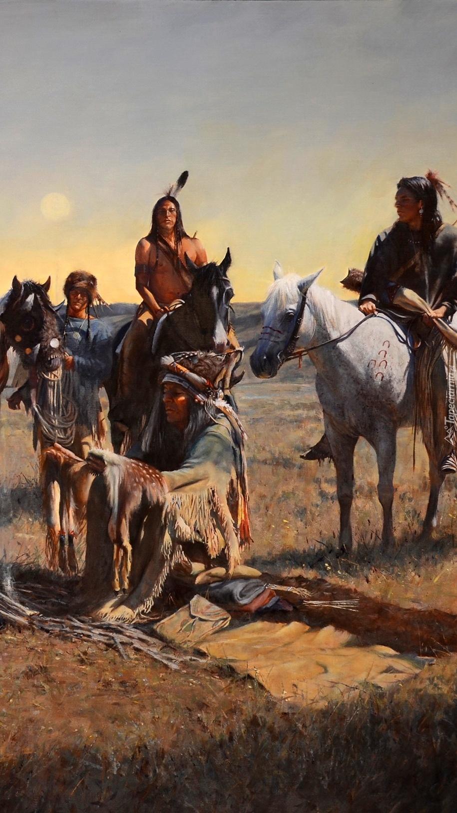 Indianie na koniach