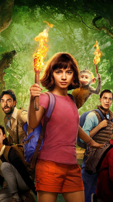 Isabela Moner w filmie Dora i Miasto Złota
