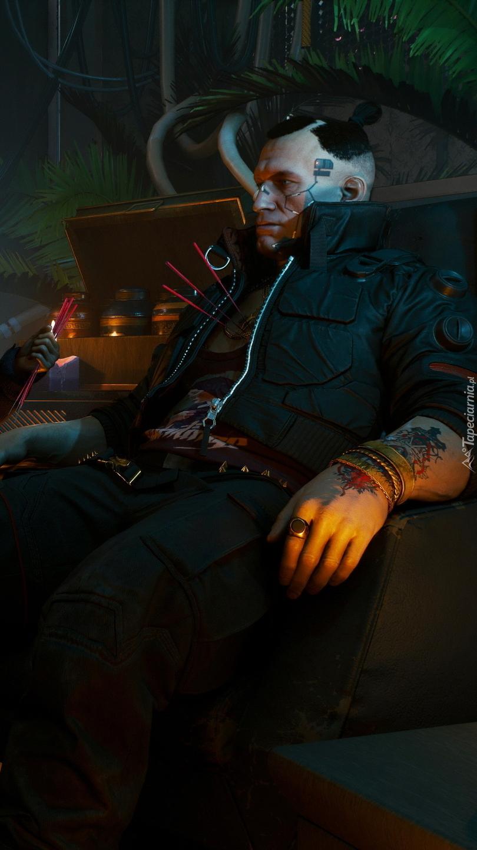 Jackie Welles z gry Cyberpunk 2077