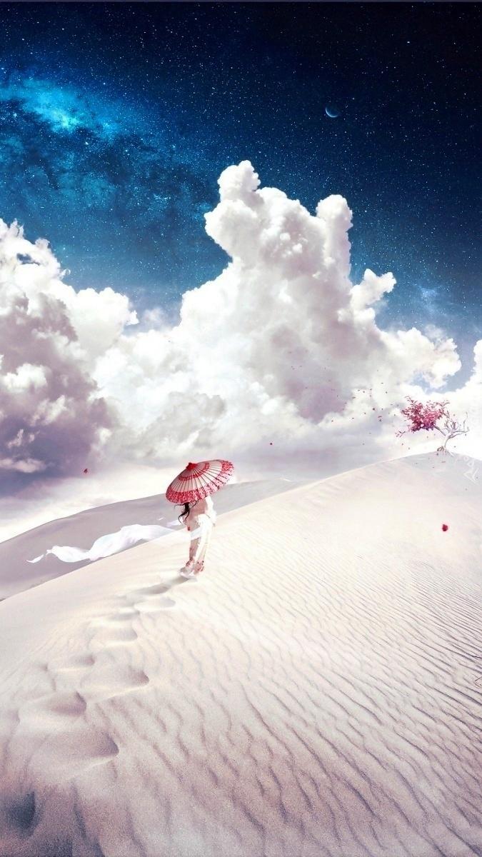Japonka z parasolką
