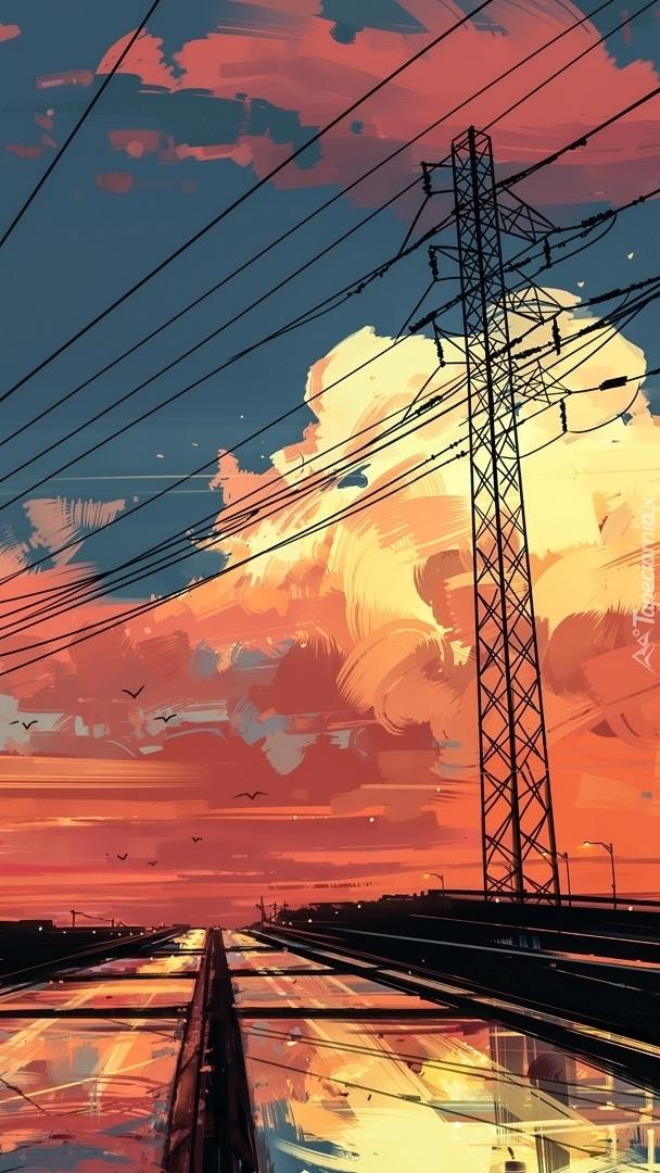 Jasne chmury