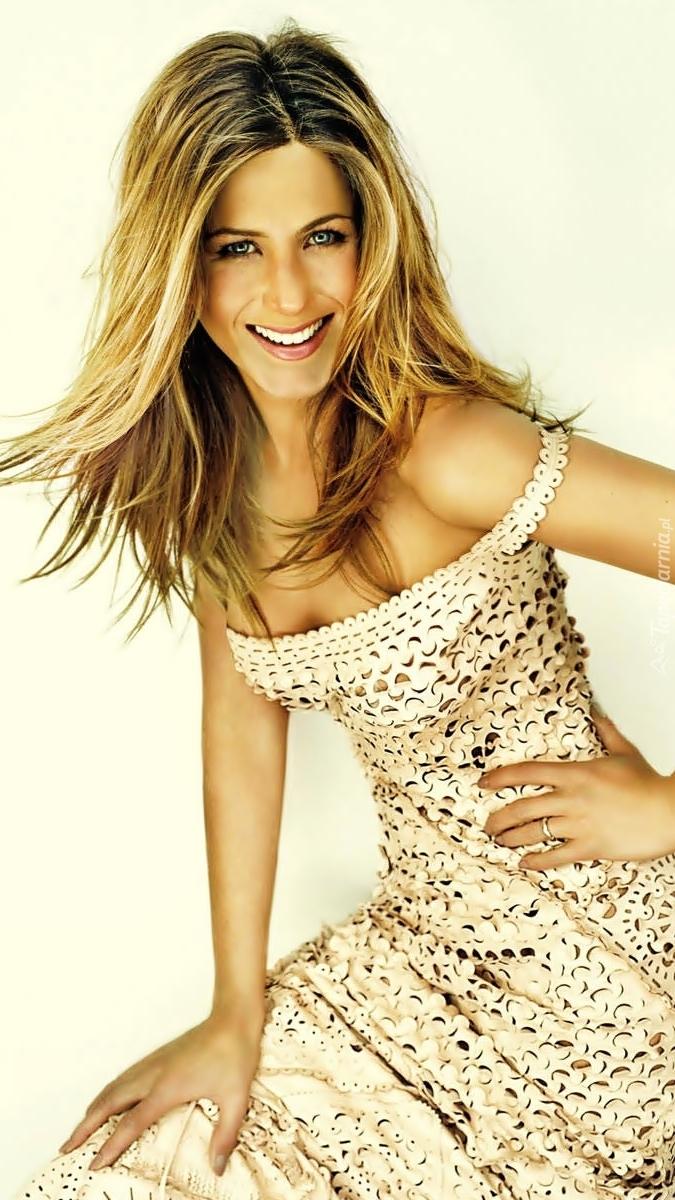 Jennifer Aniston w letniej sukience