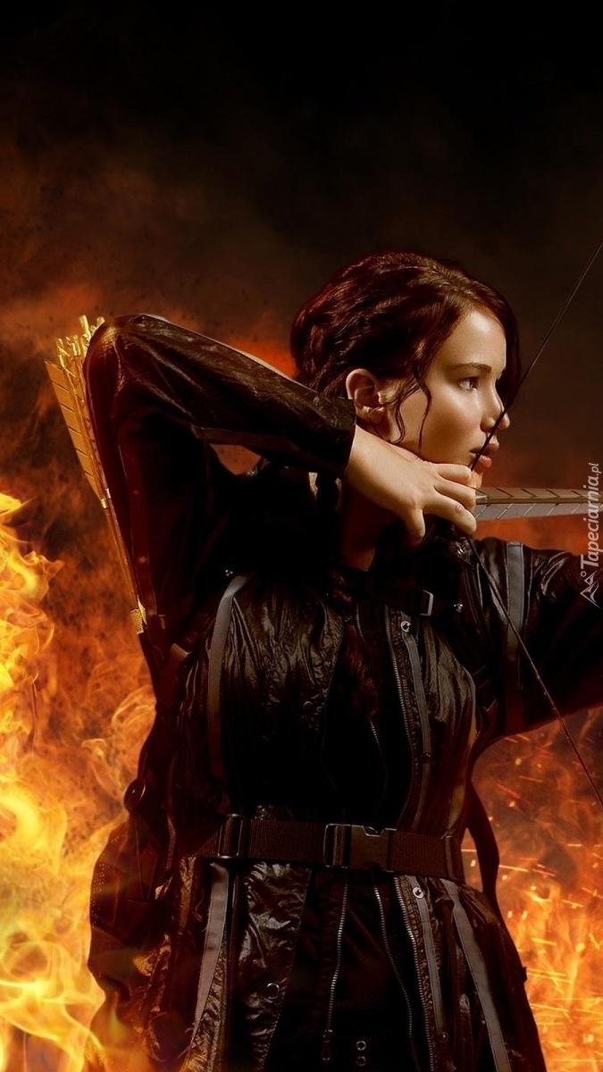 Jennifer Lawrence z łukiem