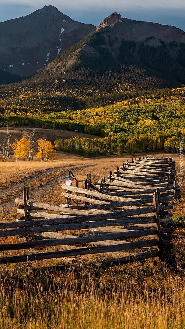 Jesień w górach Skalistych