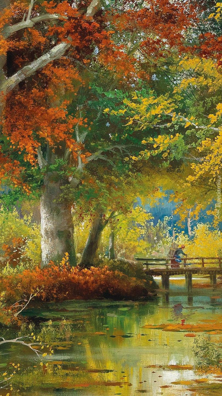 Jesień w malarstwie Aloisa Arneggera