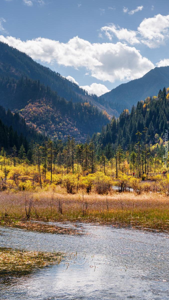 Jesień w Parku Narodowym Jiuzhaigou