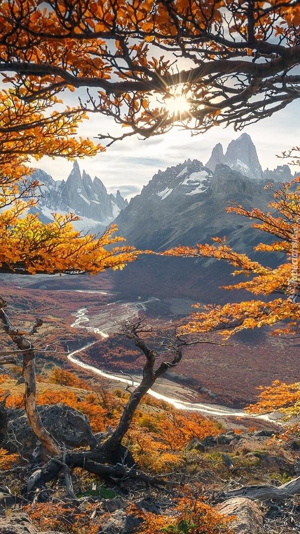 Jesień w Parku Narodowym Los Glaciares