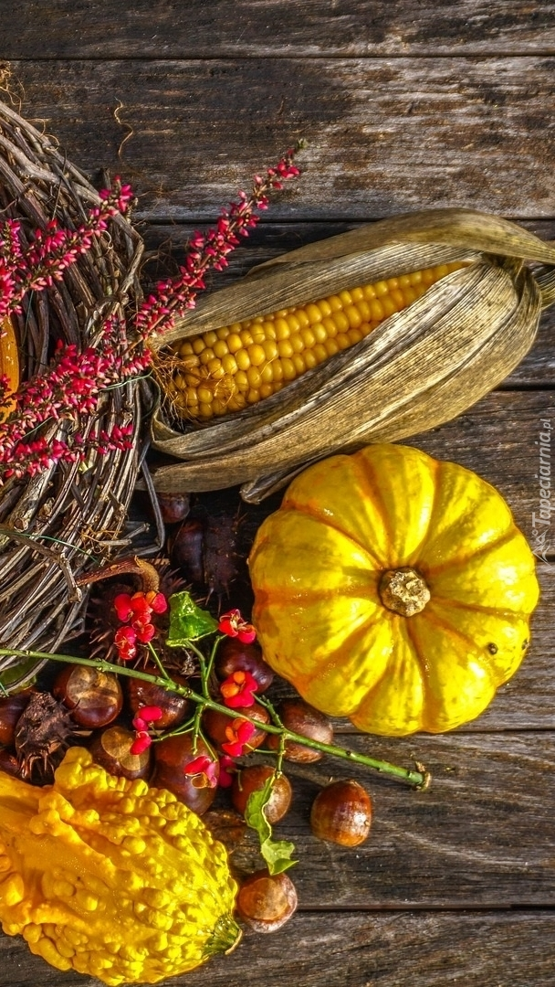 Jesienna kompozycja z warzyw
