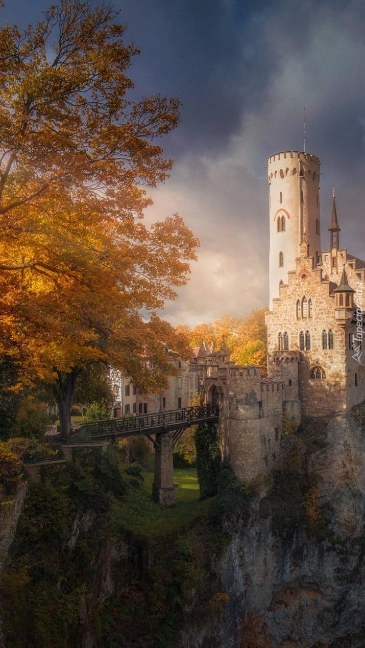 Jesiennie na zamku