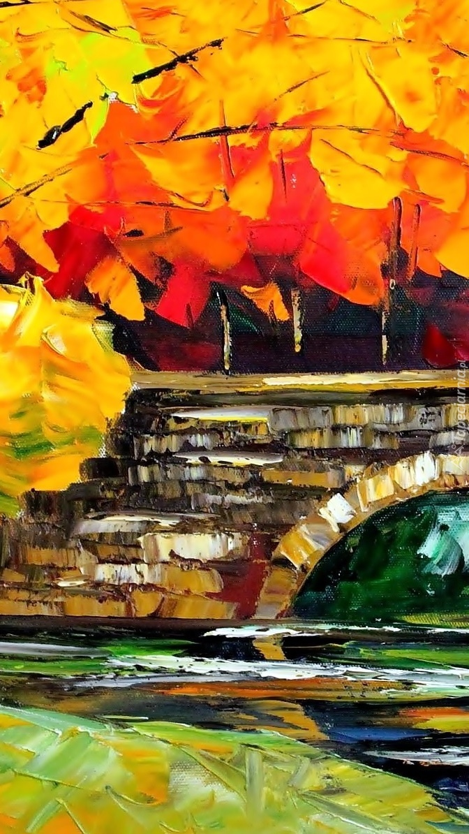 Jesienny obraz Afremova