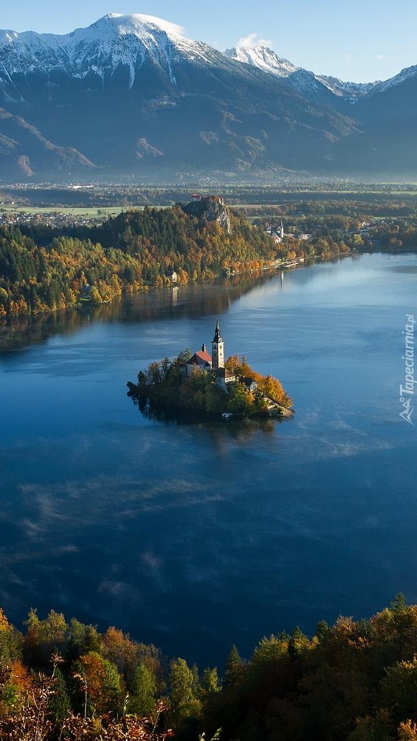 Jezioro Bled z wysepką Blejski Otok