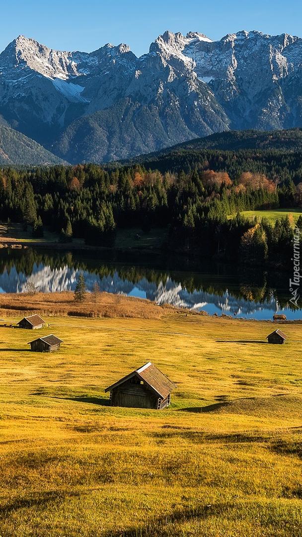 Jezioro Geroldsee w Alpach