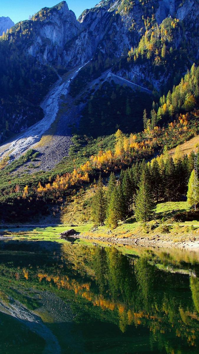 Jezioro Gosau w Alpach