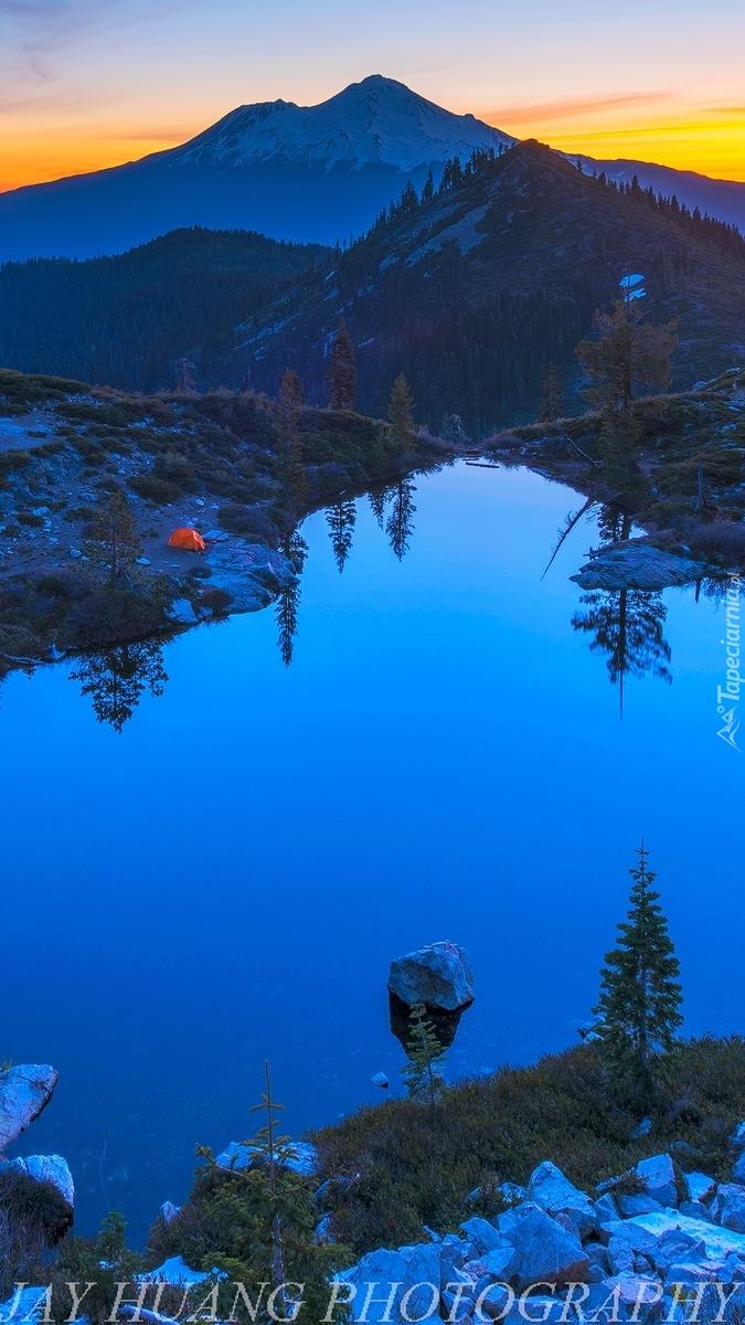 Jezioro Heart Lake w Kalifornii