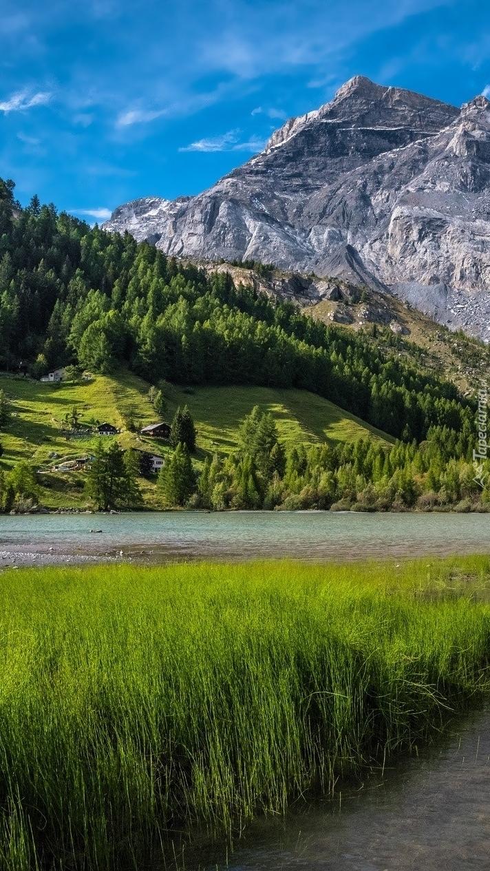 Jezioro Lac de Derborence