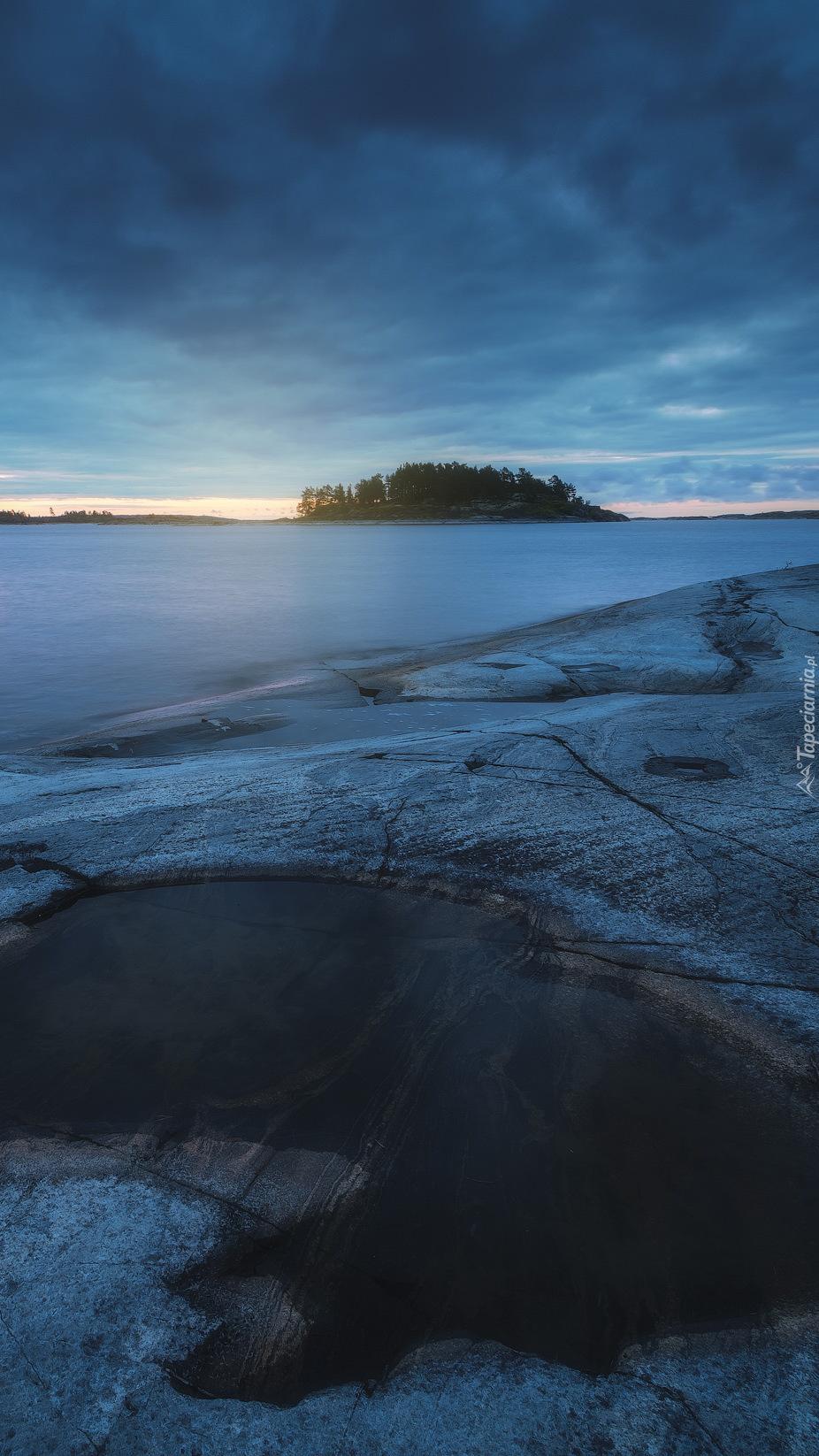 Jezioro Ładoga w Republice Karelii