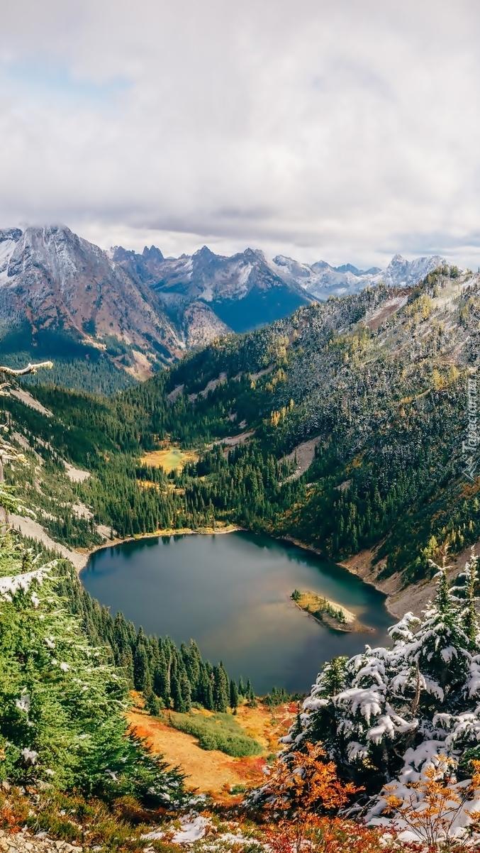 Jezioro Lake Ann w górach