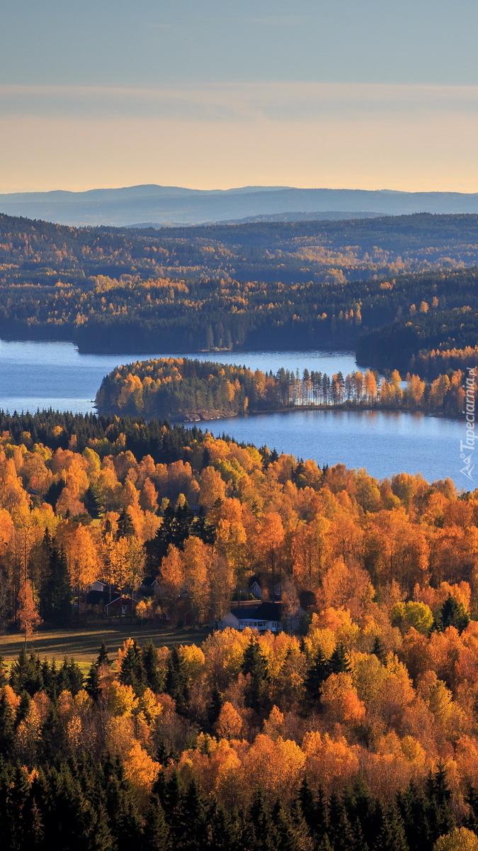 Jezioro Lake Gunnern w Szwajcarii