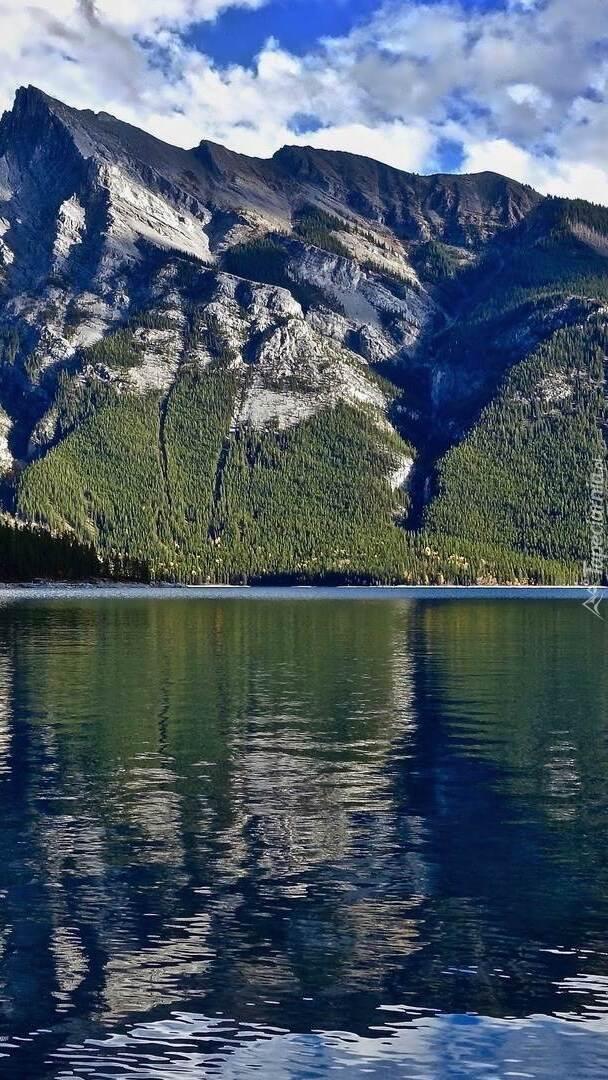 Jezioro Lake Minnewanka