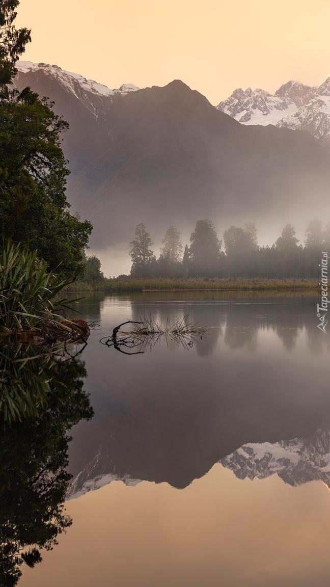 Jezioro Matheson i góra Cooka