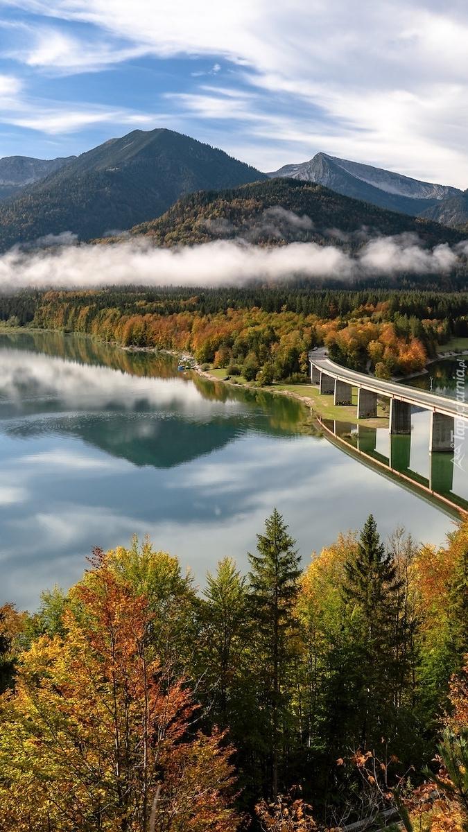 Jezioro Sylvensteinsee