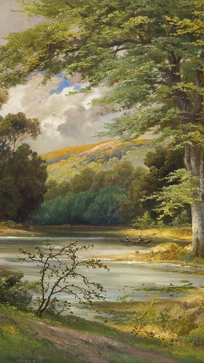 Jezioro w malarstwie