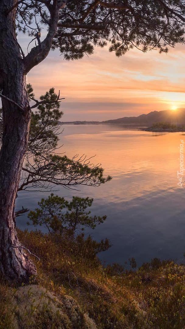 Jezioro w Norwegii