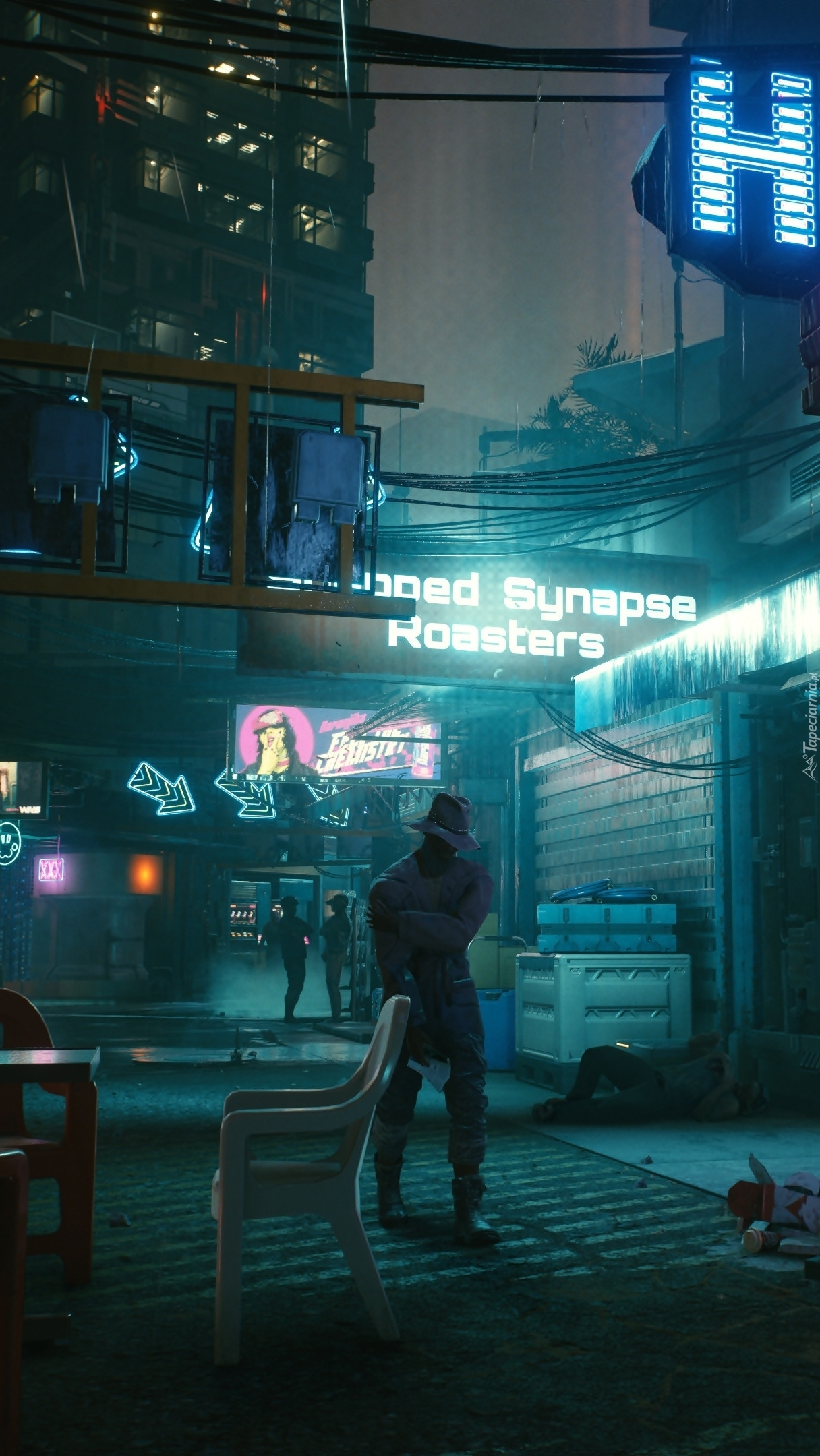 Kadr z gry Cyberpunk 2077