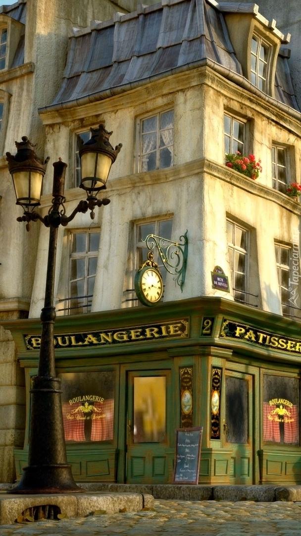 Kafejka na rogu dwóch ulic