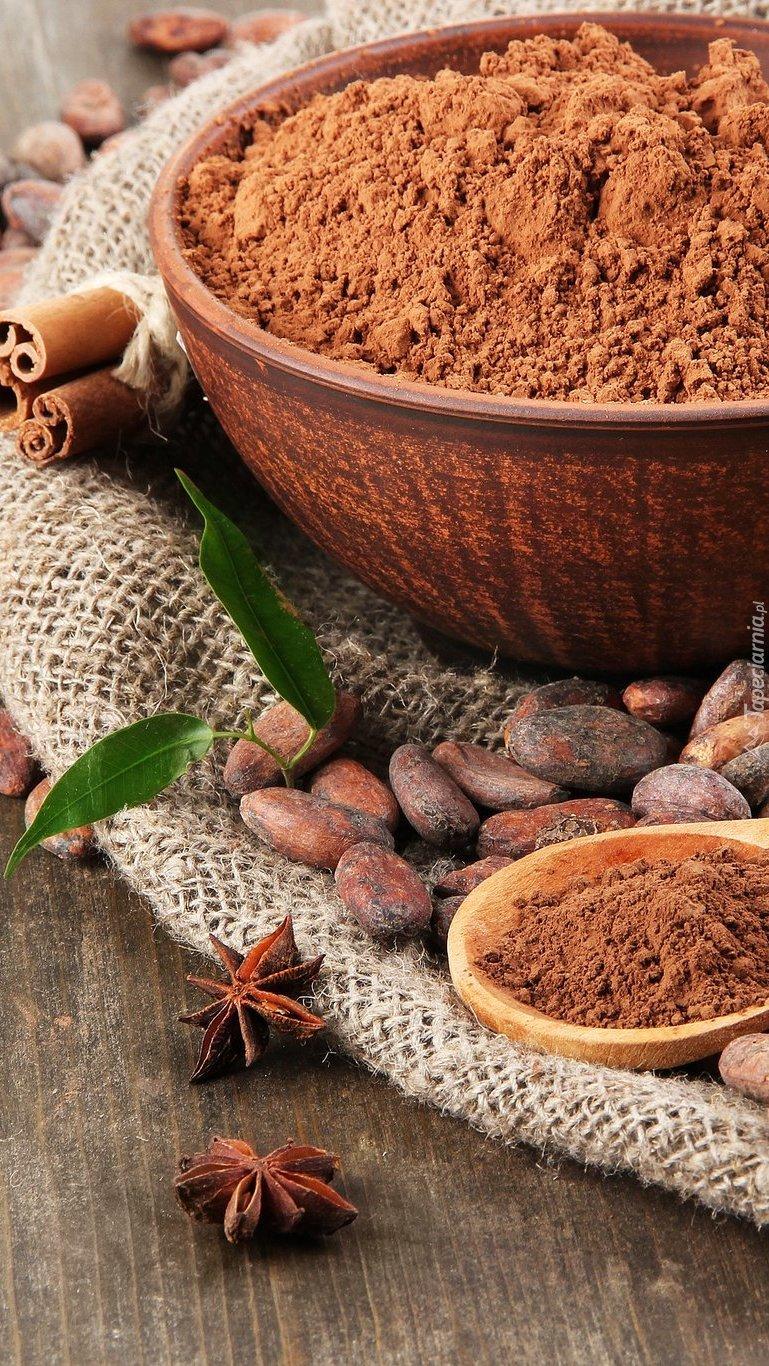Kakao w misce