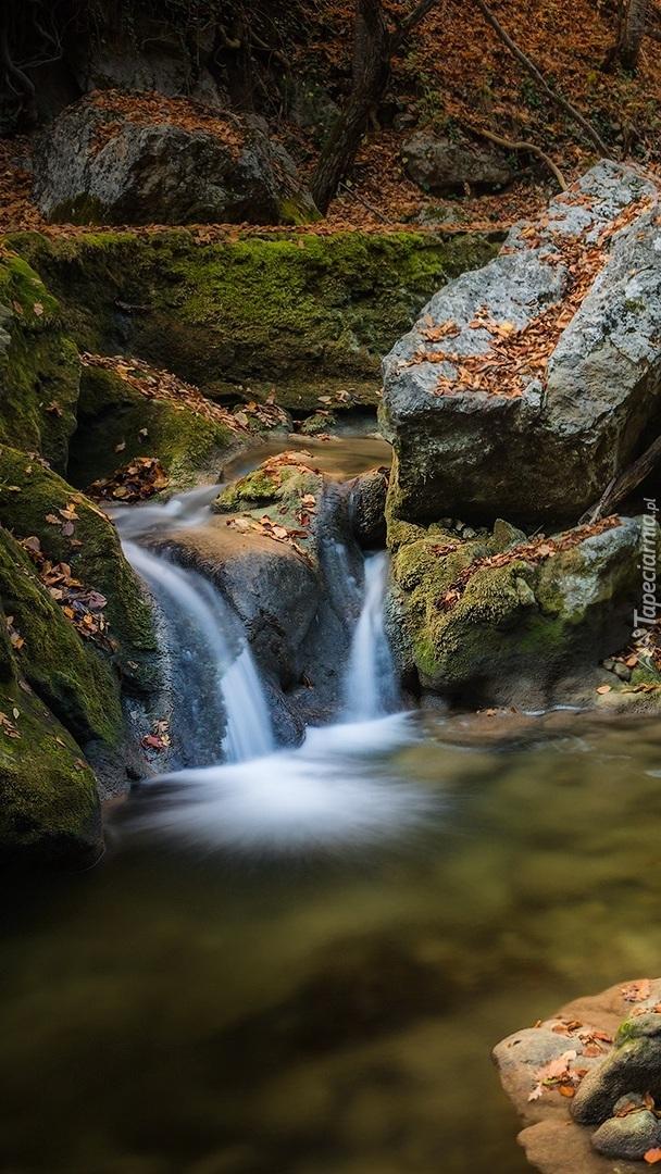 Kamienie w rzece
