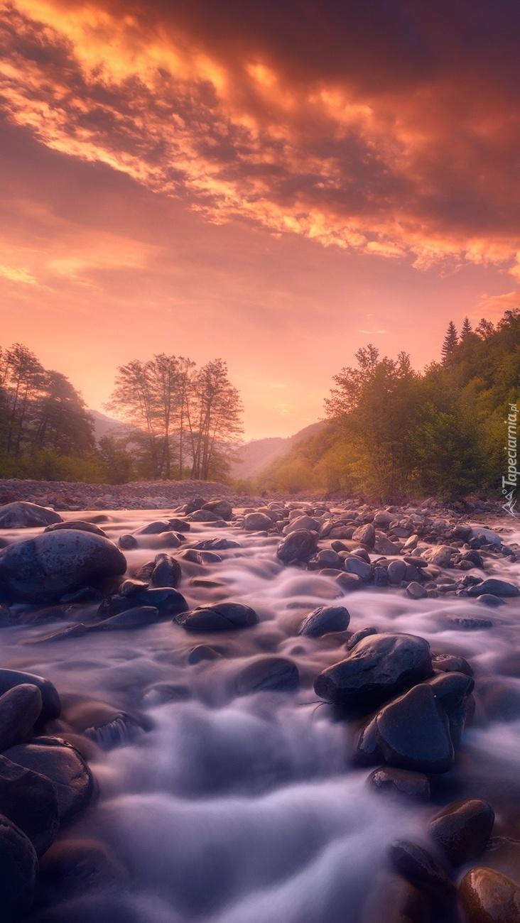 Kamienie w rzece Rioni