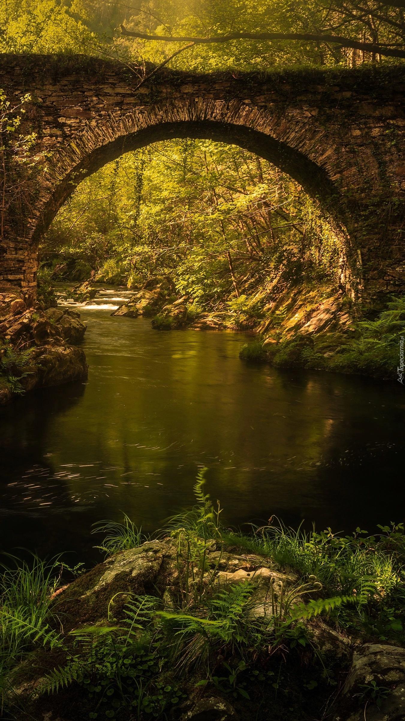 Kamienny most łukowy