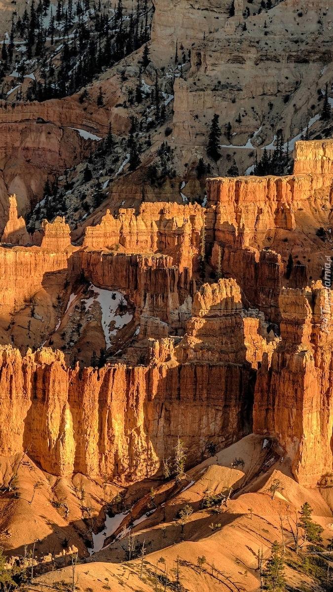 Kanion Bryce w stanie Utah